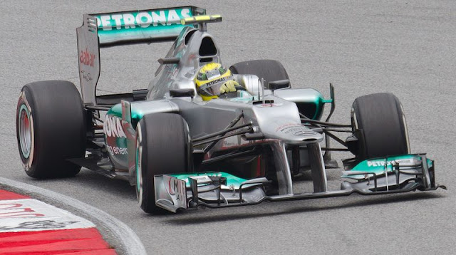 Gambar Mobil Balap F1 Mercedes-Benz