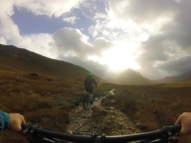 FitBits | Mountain biking on Skye, Scotland - Sligachan -  fitness blogger Tess Agnew