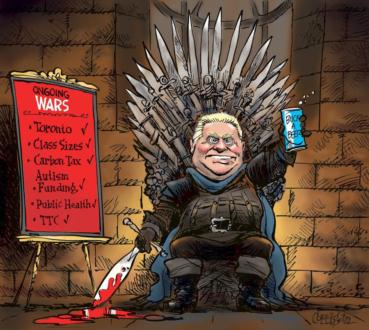 Politics and its Discontents: Speaking of Doug Ford And His Ilk