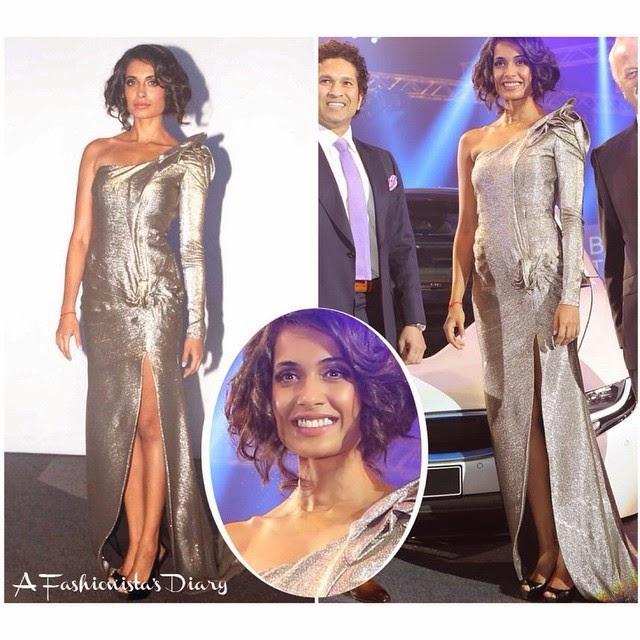 sarah jane dias ,  gown - gaurav gupta , couture , styled by - @gautamkalraindia   bollywood , style , fashion , beauty ,, Sarah Jane Dias Latest Style File