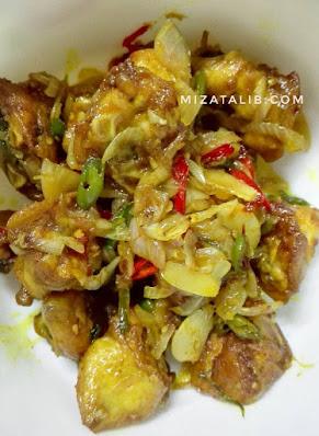 Tongkeng Ayam Masak Berlada