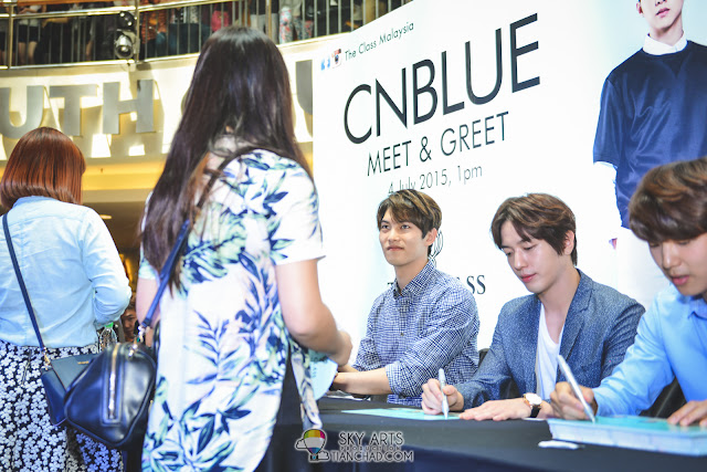 Meet N Greet Autograph session - CNBLUE x The Class Meet   Greet   Mid  Valley c0a8f412269