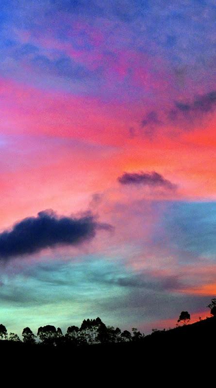 Sunset Clouds Wallpaper Bronze Wallpapers