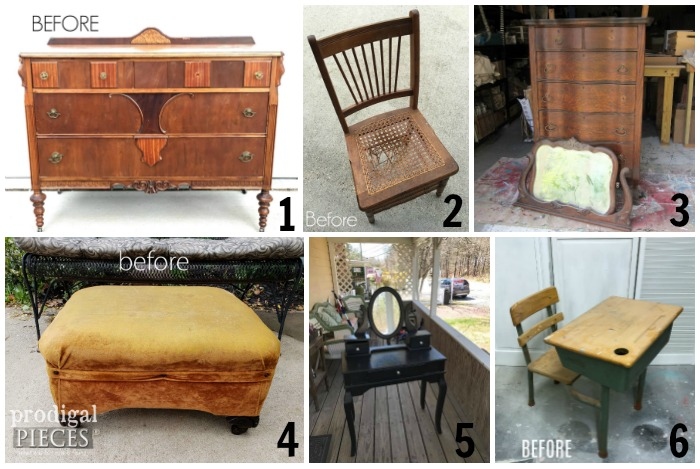 Furniture Fixer Upper Challenge May 2018
