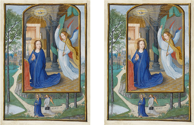 Penelitian Unveiling the Invisible Mathematical Methods for Restoring and Interpreting Illuminated Manuscripts