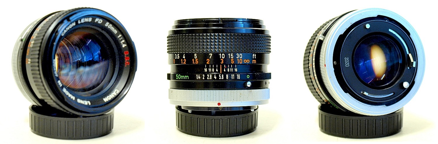 Canon FD 50mm 1:1.4 SSC