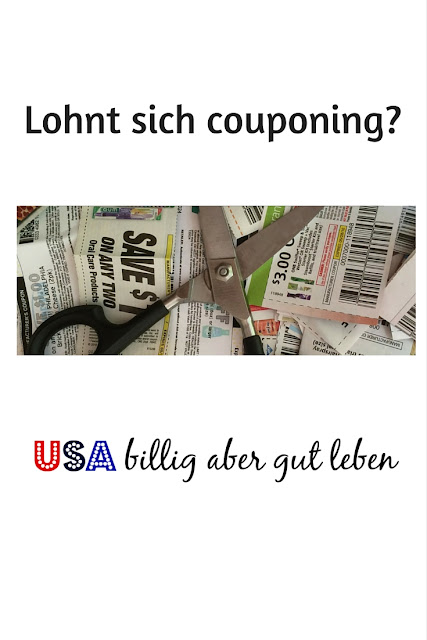 Spart man mit couponing Geld?