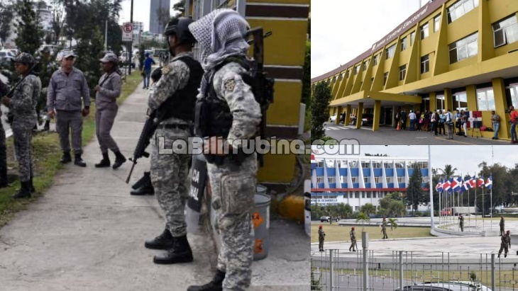 [Video] Militarizan la Junta Central Electoral