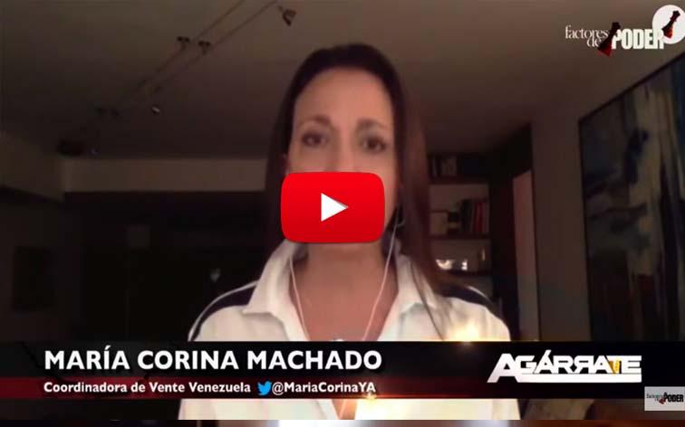 María Corina Machado llama a desobediencia contra el Carnet del Chantaje y el Censo
