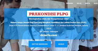 Cara Daftar Prakondisi PLPG (Sertifikasi Guru 2017) dejarfa.com