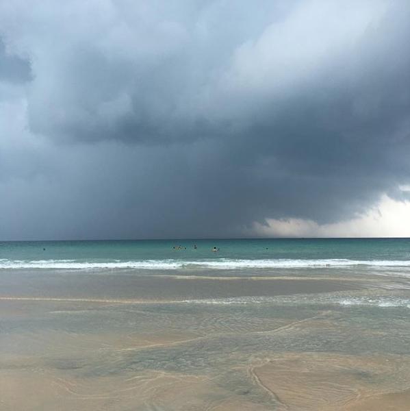 orage à kata beach