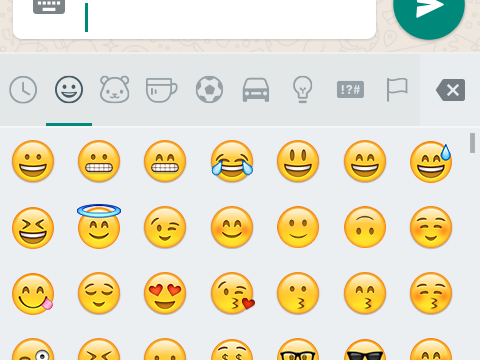 Whatsapp new emoji
