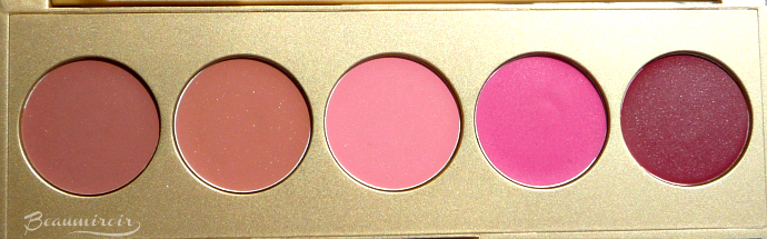 Stila Sunrise Splendor Convertible Color Dual Lip & Cheek Palette: English Rose, Lillium, Cherry Blossom, Fuchsia, Tulip
