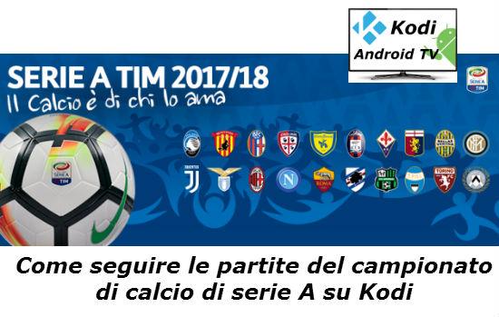 Come vedere le partite di Serie A e Champions con app Android e Kodi