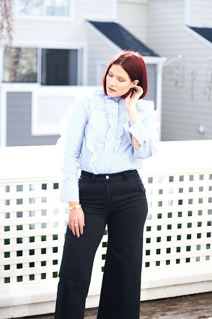 Everlane, womenswear, affordable fashion, blogger, sfblog, red hair, inspiration