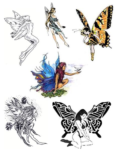 Tattoo Simbols Fairy Tattoo Designs