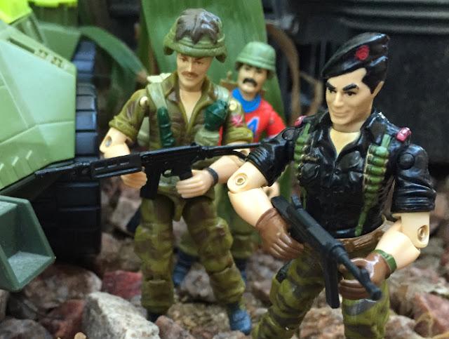 1985 Footloose, Flint, Bazooka, 1993 Monster Blaster APC