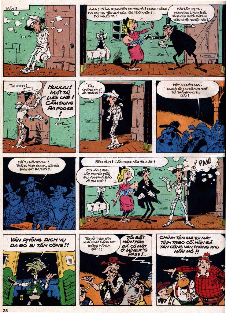 Lucky Luke tap 18 - ki si ao trang trang 26