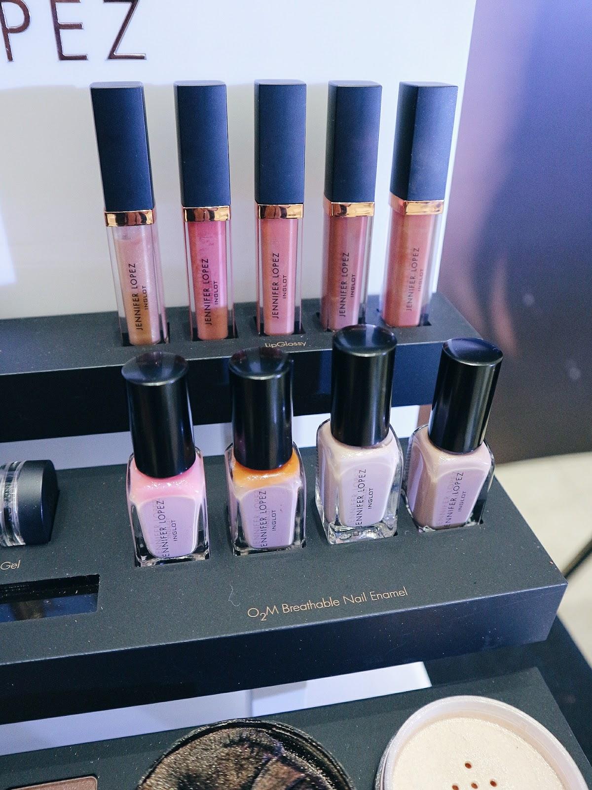 Jennifer Lopez Inglot makeup collection