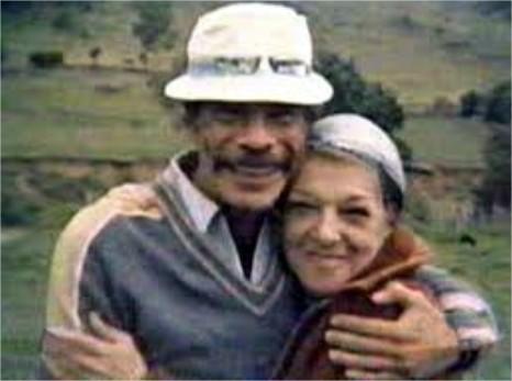 Ramón Valdés e Angelines Fernández