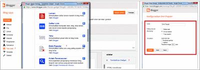 Sebelumnya aku pernah menulis artikel yang berjudul  Cara Menambahkan Widget Popular Post Pada Blog