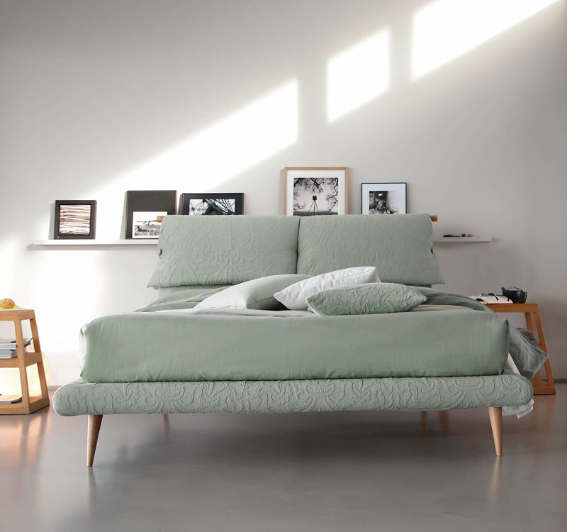letto matrimoniale FLY Windsor di Bontempi Casa Letti Design