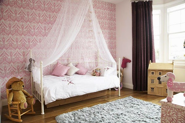 Dormitorios para chicas estilo vintage ideas para Recamaras estilo vintage
