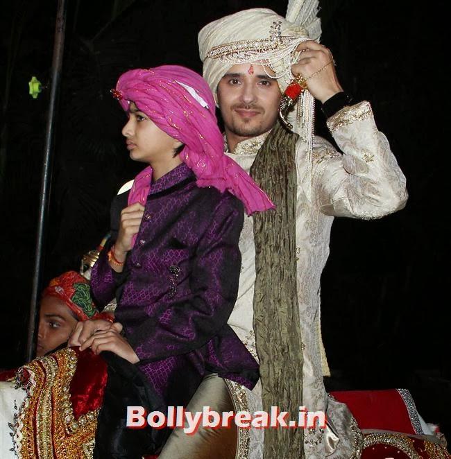 Raghav Sachar, Raghav Sachar, Amita Pathak Wedding Reception Pics