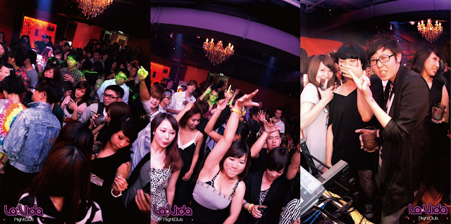 LaVida Club: 100/03/26(六)ART OF BEATS-DJ Xuan 劉軒 精彩花絮