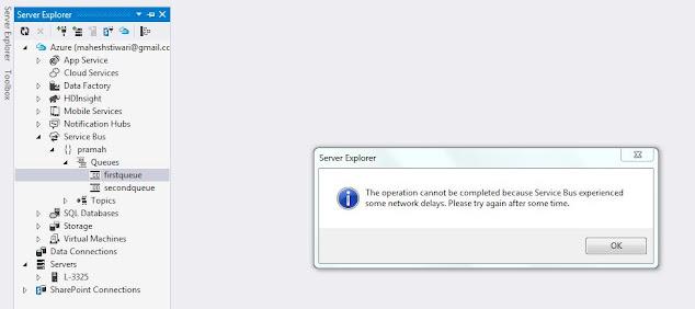 network delay error