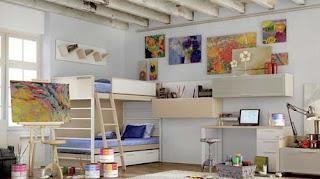 Arredamenti moderni idee per arredare la camera dei ragazzi for Arredare la camera dei ragazzi