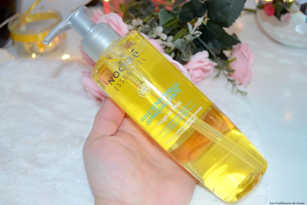 peau sensible - demaquillage - demaquillant - soin - huile de soin - huile pour demaquiller