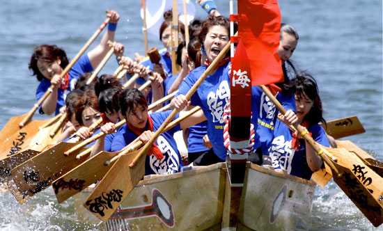 Aion Pe-Ron Matsuri (fireworks & fishermans festival), Aioi City, Hyogo