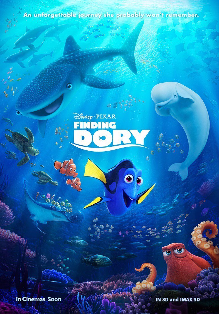 Review film Finding Dory 2016