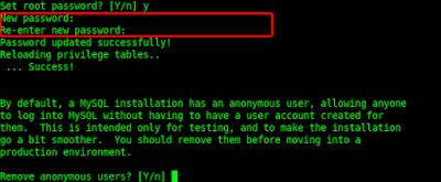 MySQL Secure Installation - Standar Keamanan MySQL di Linux yang perlu Anda ketahui