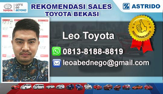 Rekomendasi Sales Toyota Karanggan