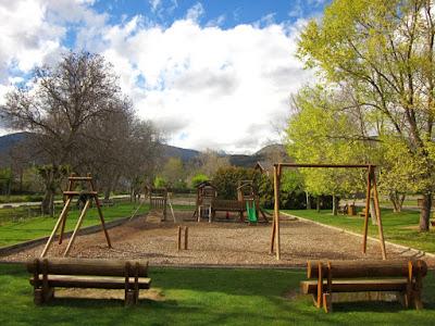 Parque de Sant Guillem en Llivia