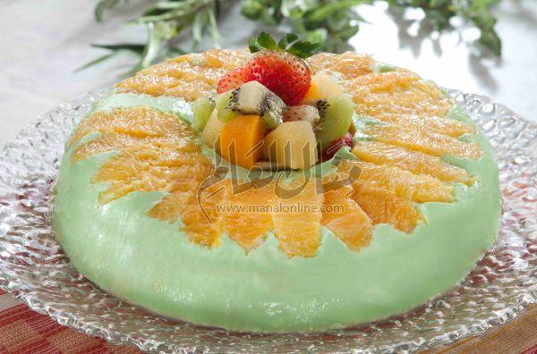 طريقة عمل قالب البرتقال والاناناس