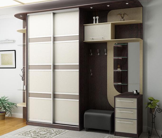 Desain Lemari Pakaian Minimalis Modern Pintu Geser
