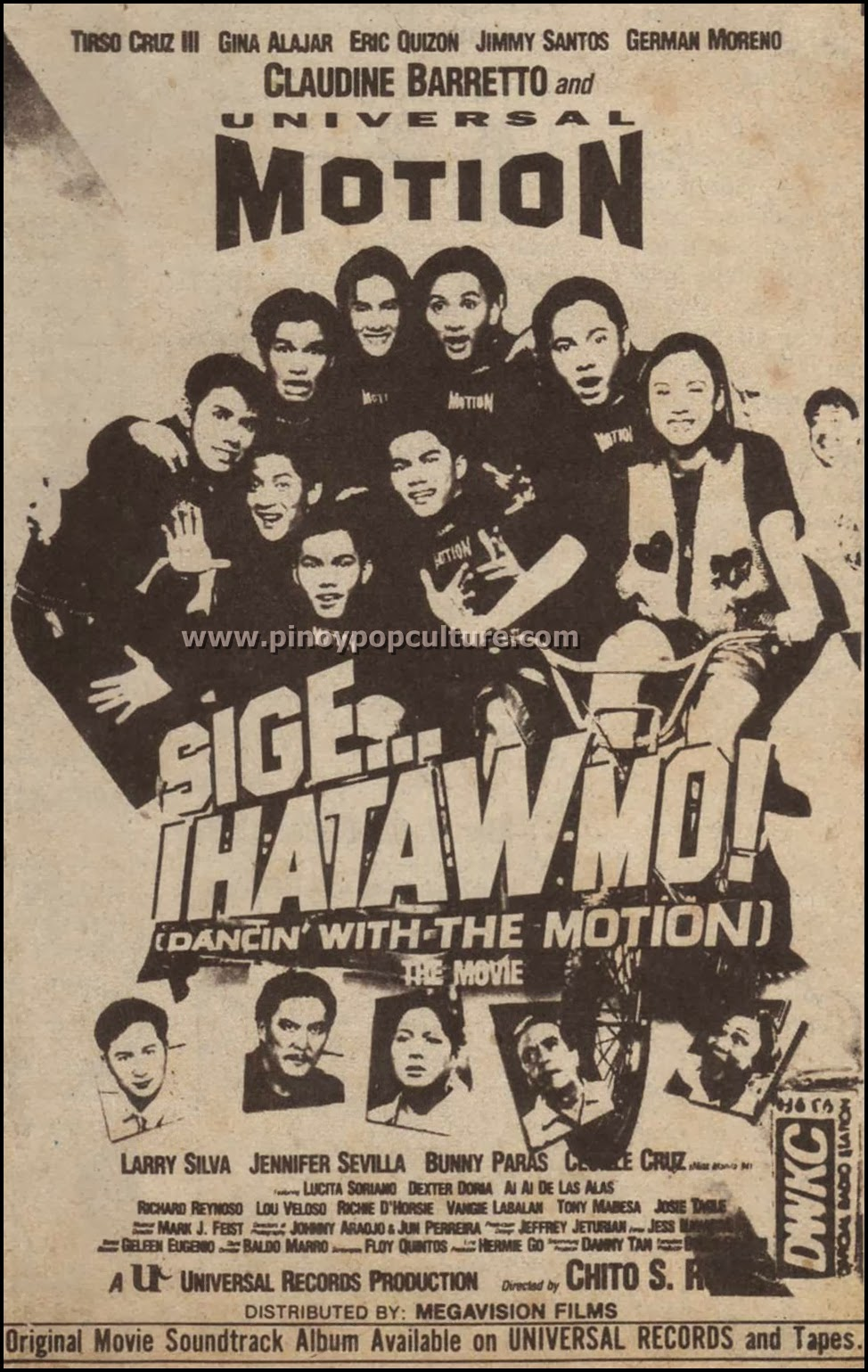 Sige Ihataw Mo Dancin with the Motion, movies, Universal Motion Dancers, UMD