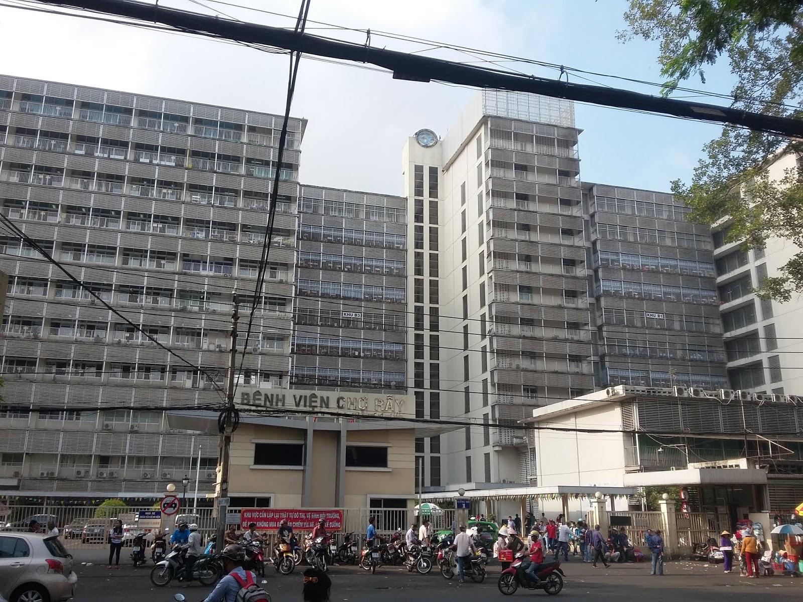 Bệnh viện CHỢ RẪY, Saigon