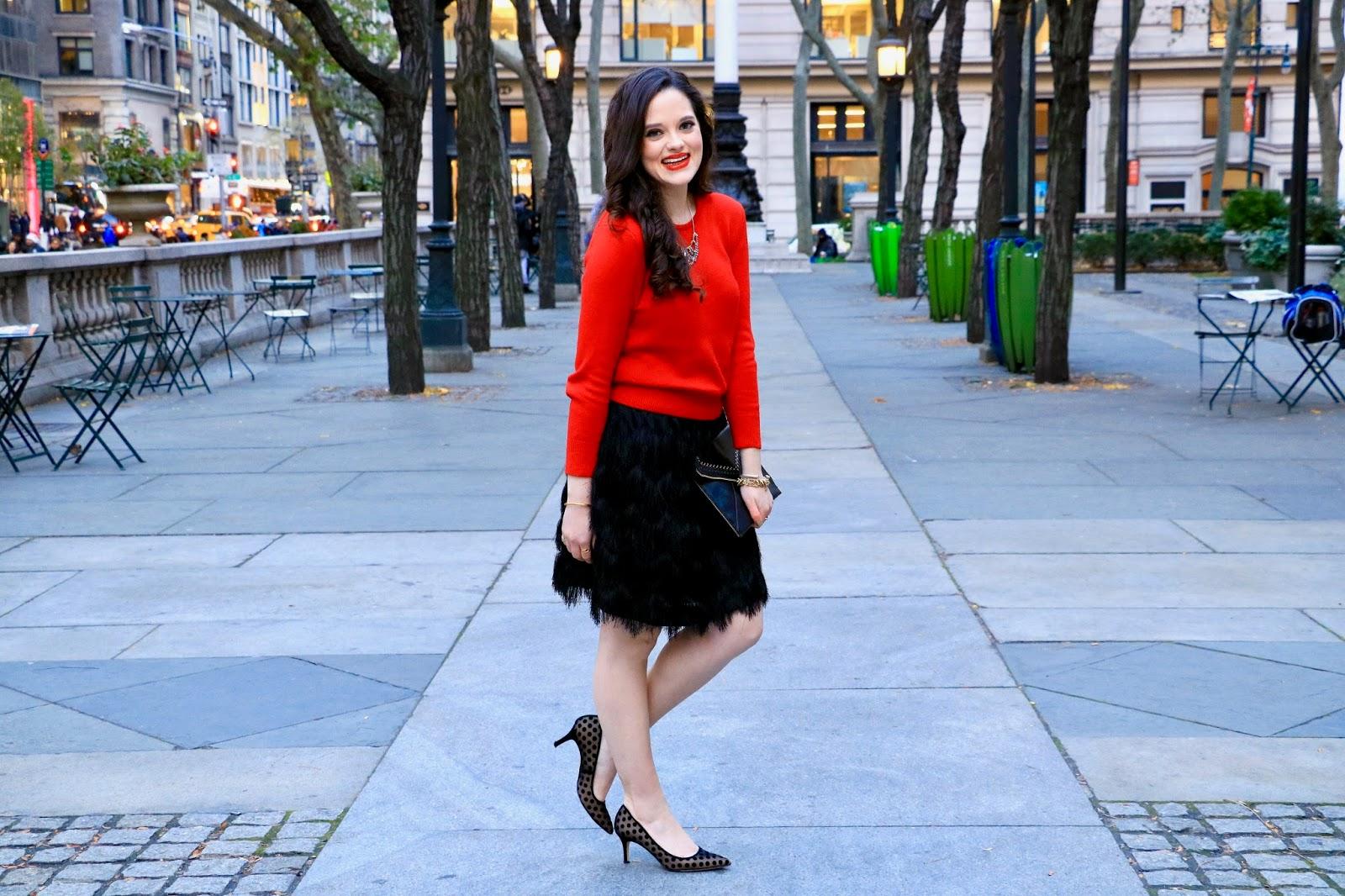 nyc fashion blogger holiday