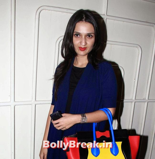Anu Dewan, Sonakshi, Twinkle at Special Screening of Movie Holiday