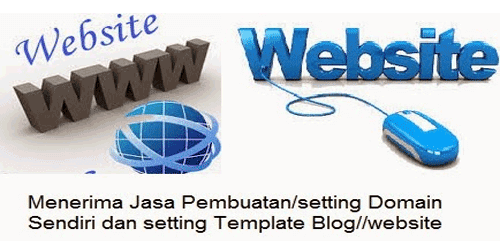 Setting Domain Blogspot ke Domain