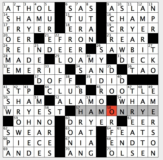 Individually separate crossword clue