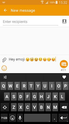 Emoji Keyboard 7 4.9 APK for Android Terbaru 2016