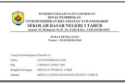Apdate data SK Operasional dan SK Pendirian Sekolah