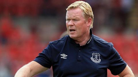 Ronald Koeman, nhà chiến lược mới của Everton.