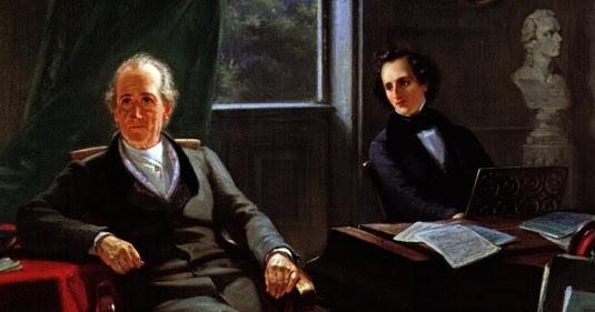 Mendelssohn piano Goethe Beethoven
