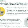 Jadwal Kerja Bank Syariah Mandiri (BSM) Hari Raya Lebaran Idul Fitri 1438 H - 2017